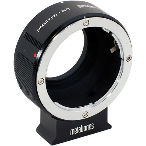 Metabones Olympus OM Mount Lens to Micro Four Thirds Lens Mounhirds Lens Mount Adapter (Black) (MB_OM-M43-BM1)