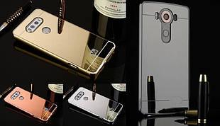 Чехол бампер для LG V10 H962 зеркальный