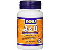 Витамин А витамин Д D A&D (100 softgels)
