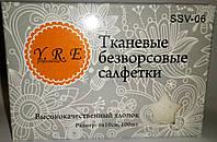 Тканевые безворсовые салфетки Y.R.E 100 шт