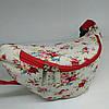 Поясная сумочка с цветами