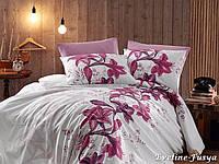 Комплект постельного белья First Choice Ranforce Евро Eveline fusya