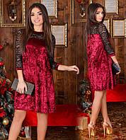 Женское короткое платье №62-201