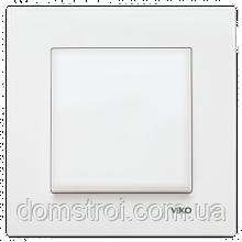 Выключатель VIKO Karre 1-клав. белый