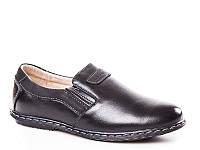 Детские кожаные туфли оптом для мальчиков в Одессе от фирмы Kangfu C791-2 (10 пар 31-36)