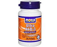 Витамины A и D3 Ultra A&D-3 (100 softgels)