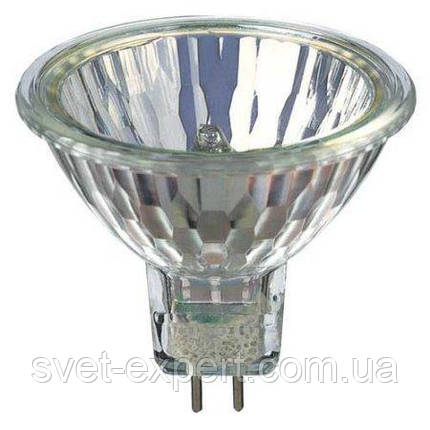 Лампа Osram 44870 WFL 50W GU5.3 12V 38грд. закрита галогенна, фото 2