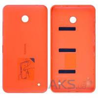 Задняя часть корпуса (крышка аккумулятора) Nokia 630 Lumia Dual Sim Original Orange