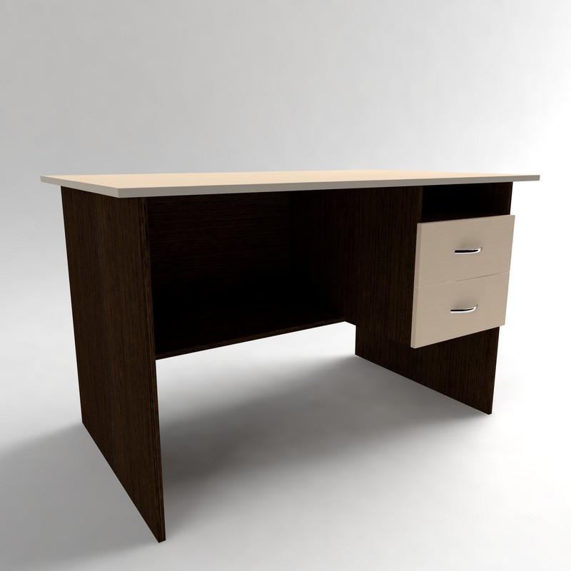 Офисный письменный стол с полкой и ящиками СР-3.