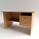 Офісний письмовий стіл з полицями і ящиками СР-3., фото 8
