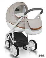Детская универсальная коляска  2 в 1  Bexa Ideal New IN6,светло-серая