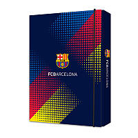 BC17-210K Папка картон для тетрадей на резинках В5 KITE 2017 Barcelona 210