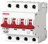 Модульный автоматический выключатель C10, 4 р, 10А, C, 10кА
