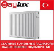 Стальные панельные радиаторы Daylux боковое подключение