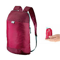 Рюкзак QUECHUA Ultra Compact 10 л Красный
