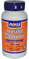NOW Инозитол Inositol 500 mg (100 caps)