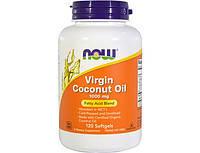NOWВиргинские кокосовое маслоVirgin Coconut Oil 1000 mg (120 softgels)