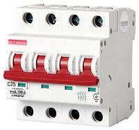 Модульный автоматический выключатель C25, 4 р, 25А, C, 10кА