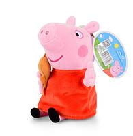 Мягкая игрушка Свинка Пеппа, Peppa Pig, 19 см