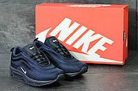 Мужские кроссовки Nike Air Max 97 темно синие 3831