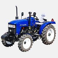 Трактор JINMA JMT 3244 H (3 цил., ГУР, КПП(16+4), 2-х дисковое сцепление, сиденье на пружине)