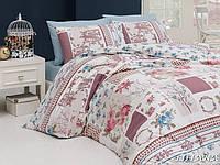 Комплект постельного белья First Choice Ranforce Евро Liliana