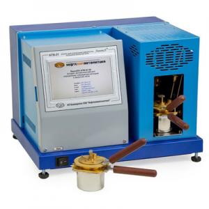 АТВ-21 апарат автоматичний для визначення температури спалаху в закритому тиглі