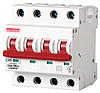 Модульный автоматический выключатель C40, 4 р, 40А, C, 10кА