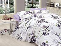 Комплект постельного белья First Choice Ranforce полуторный Coral-lila