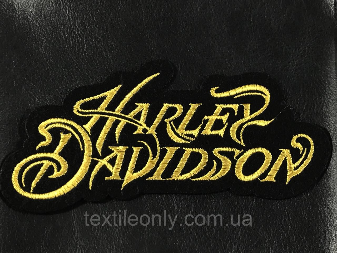 Нашивка Harley Davidson 160x80мм
