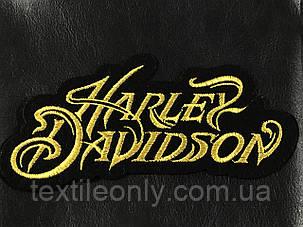 Нашивка Harley Davidson 160x80мм, фото 2