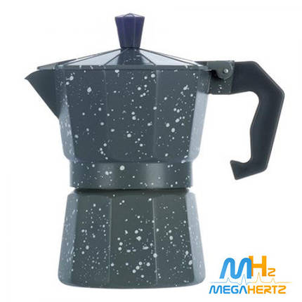 Гейзерная кофеварка 3 чашки R16591 Grey Point, фото 2