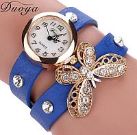Наручные часы женские с  ремешком Бабочка (в расцветках)