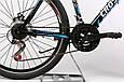 """Горный велосипед CROSSRIDE EVO 2.0 26"""" 19"""" Черный/Синий, фото 5"""