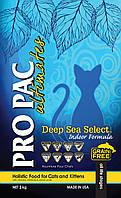 Pro Pac Deep Sea Select Indoor - беззерновой корм для домашних кошек, 2 кг.