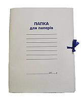 Папка на завязках А4, картон 0,41 мм, цельнокройная, Buromax, BM.3357, 910394