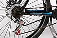 """Горный велосипед CROSSRIDE EVO 2.0 26"""" 19"""" Черный/Синий, фото 6"""