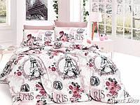 Комплект постельного белья First Choice Ranforce полуторный Sweet-love