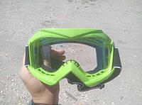 Очки защитные для мотокросса (детские, прозрачные)