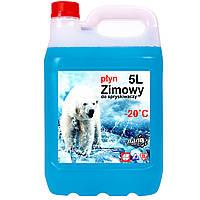Жидкость для омывателя стекол зимняя на метаноле до -20°C 5Л