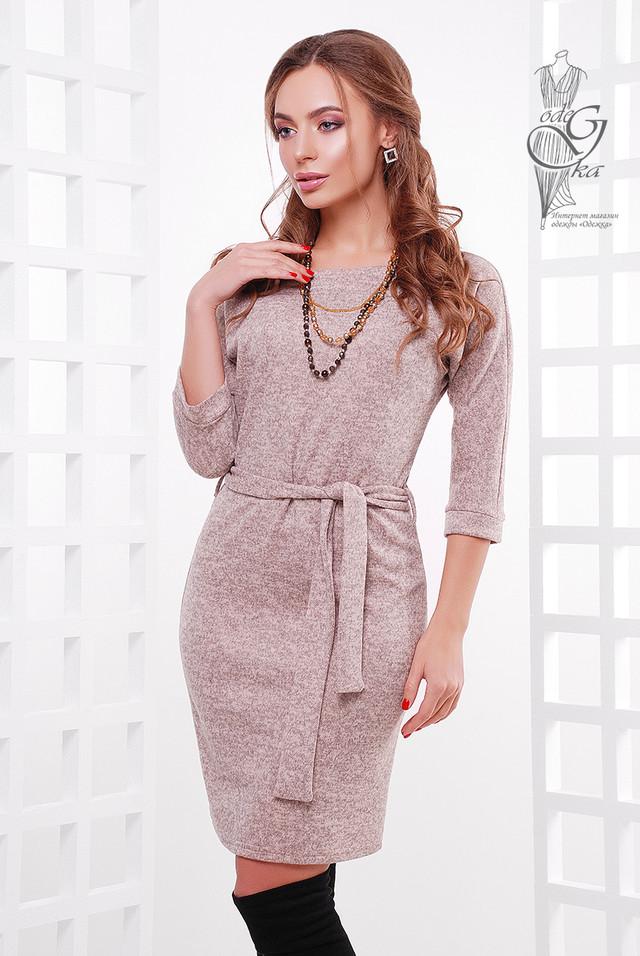 Фото-1 Ангорового женского платья Мелани-2