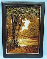 Пейзаж из янтаря