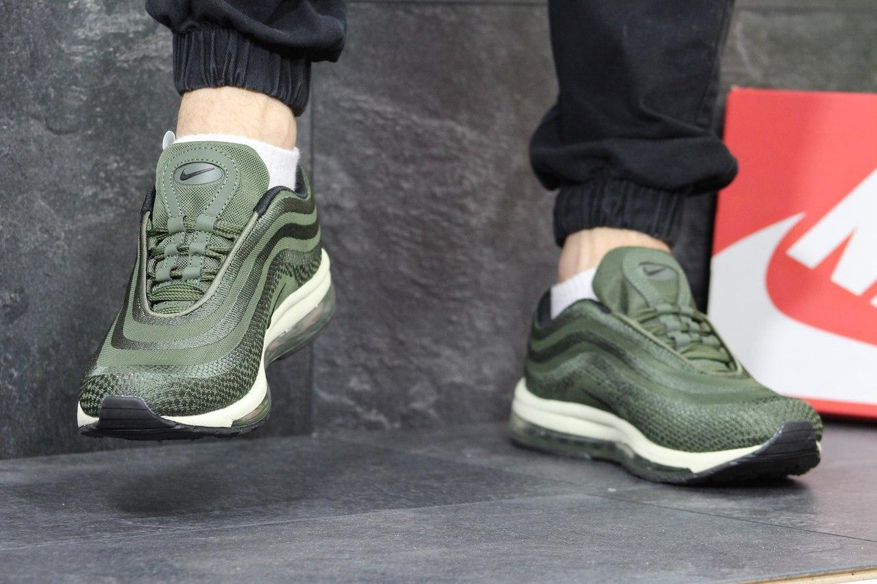 6f6a08c3 Мужские кроссовки Nike Air Max 97 зеленые 3835 - Я в шоке!™ в Хмельницком