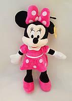 Мягкая игрушка  Дисней Минни Маус розовая , 35 см