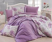Комплект постельного белья First Choice Ranforce Евро Ria-pudra