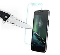 Защитное стекло Glass для Motorola MOTO G4 Play