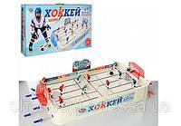 Хоккей настольная игра (настольный хоккей) на штангах 82х42х18см