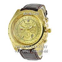 Часы Breitling Navitimer Brown-Gold