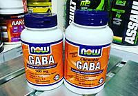 Аминокислота ГАБА GABA 500 mg (100 caps)