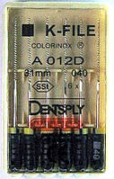 K - Files 40 31 mm Colorinox DENTSPLY MAILLEFER (К-файл 40 31 мм Майлифер)